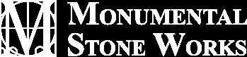 monumental stone logo horizontal